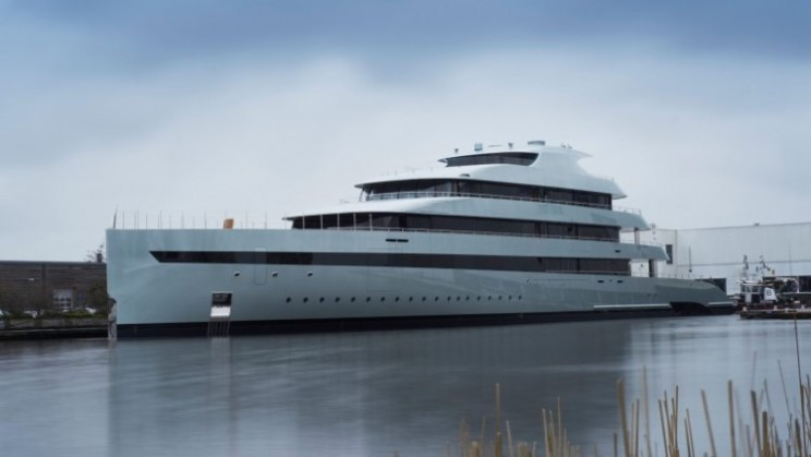 Savannah is the first hybrid superyacht in the world
