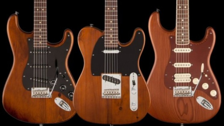 They don't make them like they used to….well now Fender have released guitars made from reclaimed wood.
