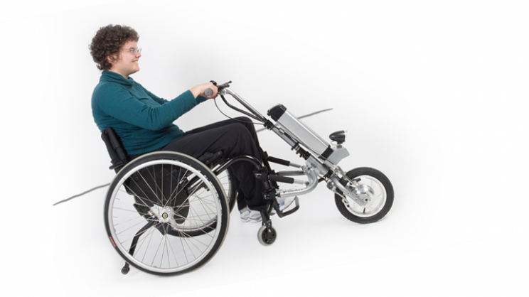 Rio Mobility Firefly turns wheelchairs into powered tricycles
