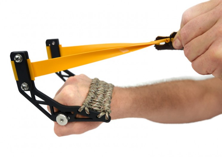 The Gloveshot is the Perfectly Engineered Slingshot
