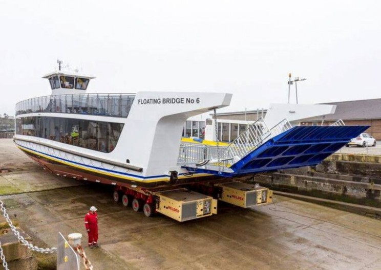 British Authority Makes Huge Mistake Letting Public Name Floating Bridge