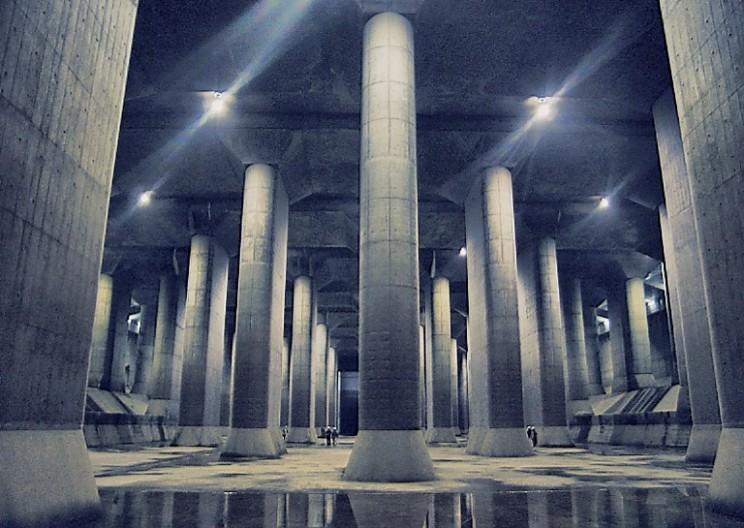 Tokyo's Futuristic Underground Flood System
