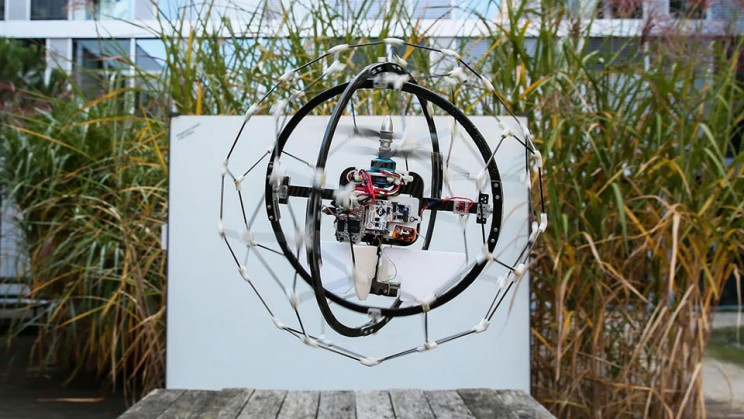 Gimball: the world's first collision proof drone
