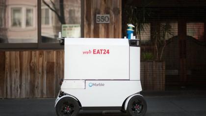 Autonomous Food Delivery Robots Hit the Streets of San Francisco