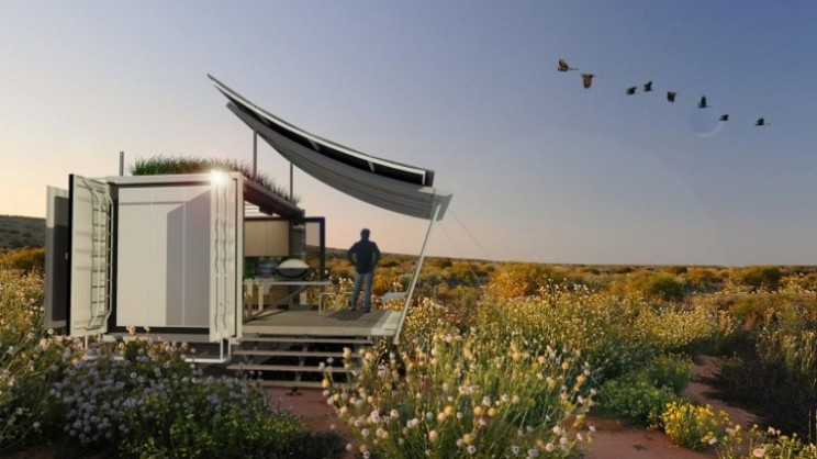 The G-pod Dwell home is a dynamic container