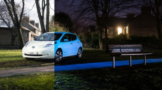 Nissan Leaf glow-in-the-dark edition