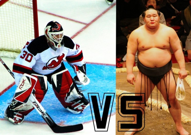 Sumo Goalie vs NHL Player: Is a Bigger Goalie a Better One?