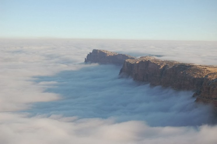 Fogs in Grand Canyon - Rare, but Unforgettable!