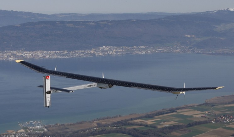 Solar-Powered Flight!