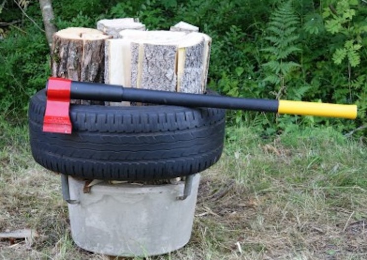 Innovative GripRock Makes Splitting Wood Easier Than Ever!