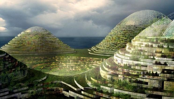 New Artificial Island Near the Turkish Coasts?