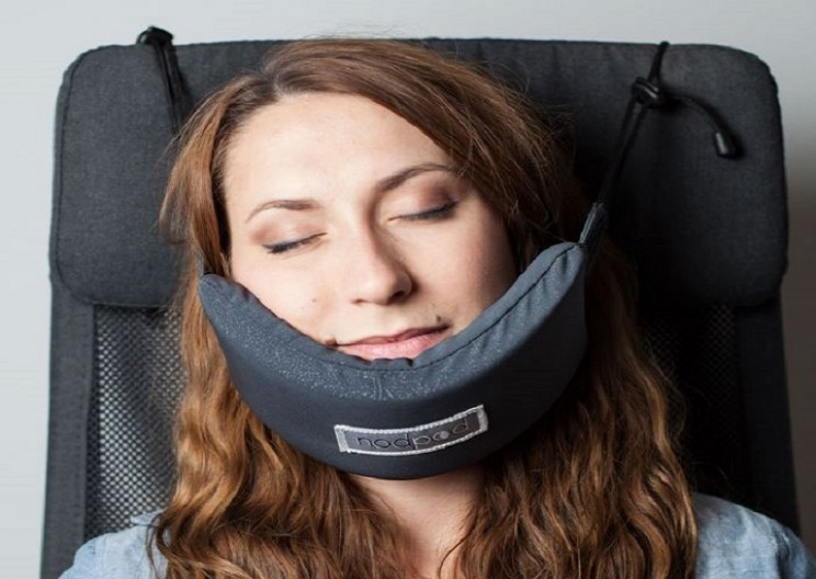 The Head Hammock- Finally a Solution to Sleep on Planes