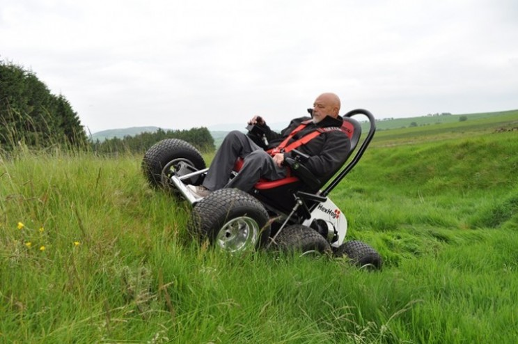 Wheelchair Users can Rough it Thanks to the HexHog ATV