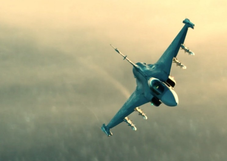 Jaw-dropping Footage of Fighter Jet at 555 KPH