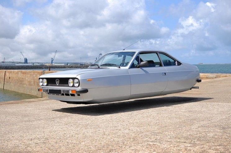 Sylvain Viau turns ordinary cars into hover cars