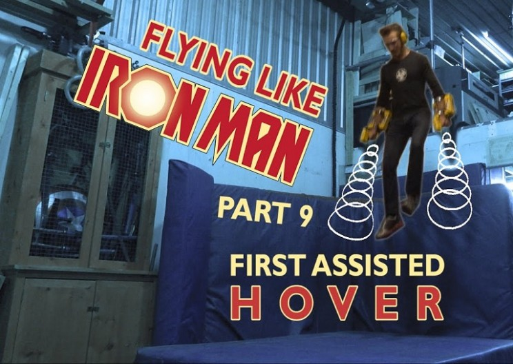 Building an Iron Man Suit that Really Flies