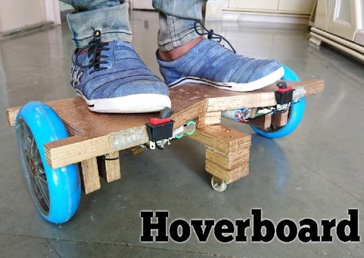 How to Make a Homemade 'Hoverboard'