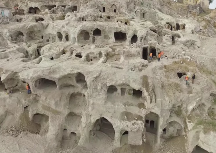 Enormous Underground City Uncovered in Turkey