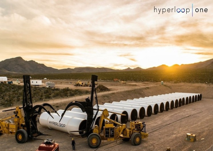The Hyperloop's First Public Tests Just Happened