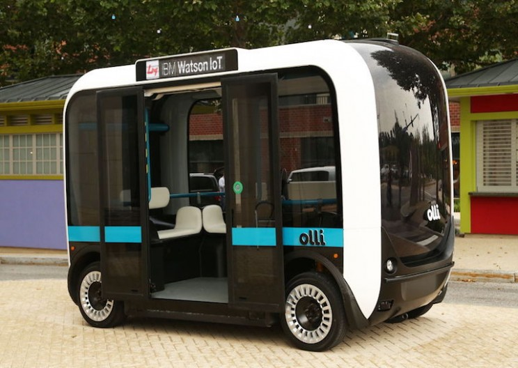 Local Motors Creates Electric Autonomous Car that Drives with IBM's Watson