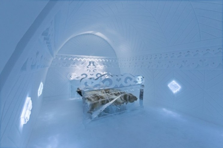Sweden's Ice Hotel is now in its 25th year