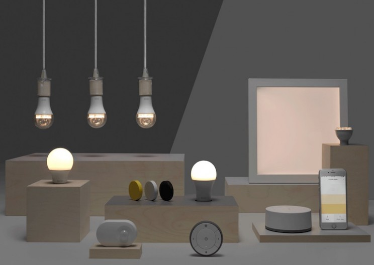 IKEA Gets Into Home Automation With New Collection of Smart Lights