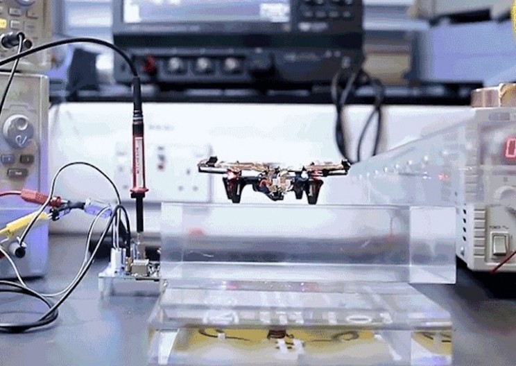 Wireless Power Allows this Drone to Fly Forever