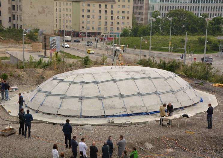 Future of Construction: Inflatable Concrete