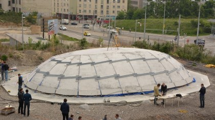 Future of Construction: Inflatable Concrete