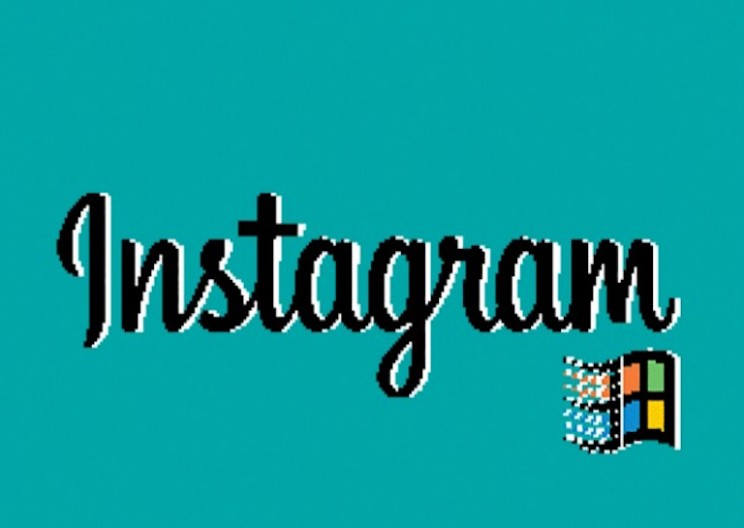 Here's What Instagram Would Look Like Running on Windows 95