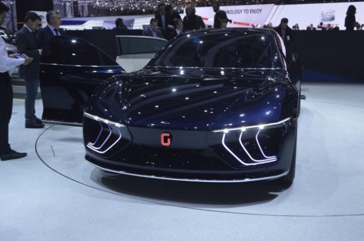 GEA concept is a luxury autonomous car for the future