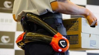 Japan's Elderly Workforce Gets Exoskeletons