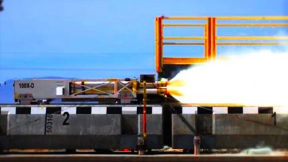 U.S. Air Force Obliterates Maglev Speed Record with Rocket Sled