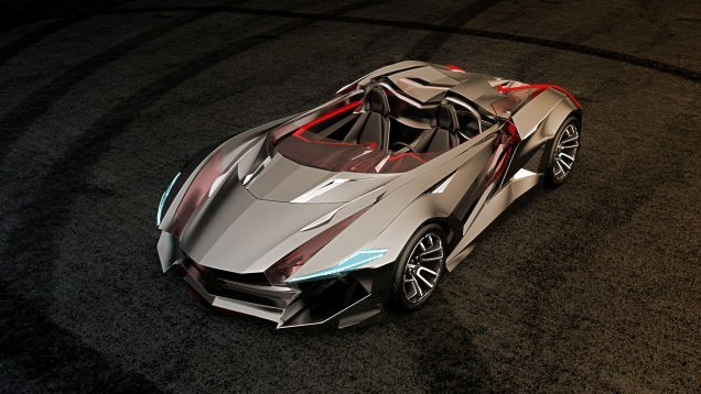 Check out the Batman-worthy Vapour GT