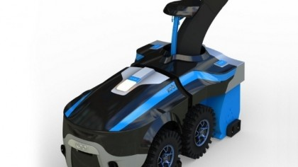 This Robot Will Shovel Snow, Trim Your Grass, and Get Rid of Leaves