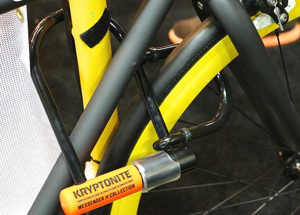 New genius Kryptonite bike lock doubles security