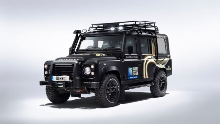 Land Rover design Rugby World Cup Special Edition