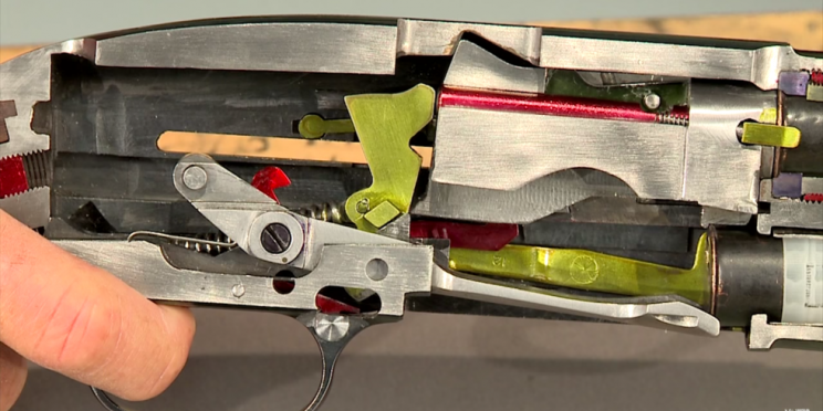 Watch: Shotgun Cutaway shows inner Workings Perfectly