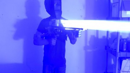 200 W Handheld Laser Bazooka is the Most Powerful Ever
