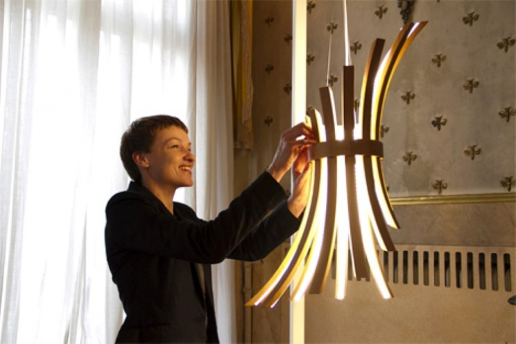 Filo Lamp is adjustable to fit your personality