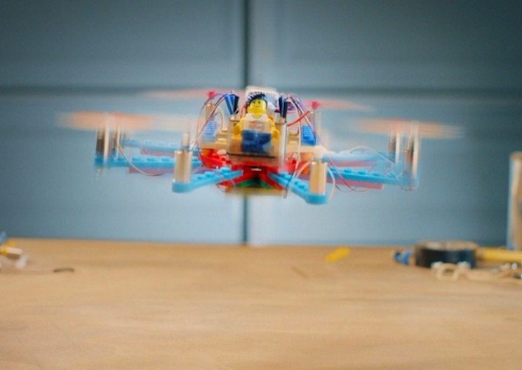 You Can Now Build Your Own Drone Out of LEGO Pieces