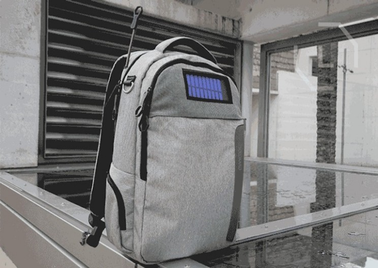 Solar Powered Backpack Contains Everything You Need