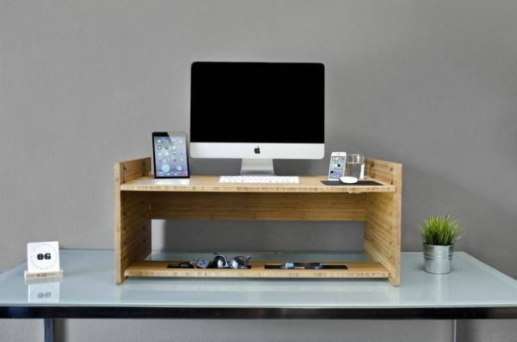 Give your office workday a lift with the Lift transforming desk