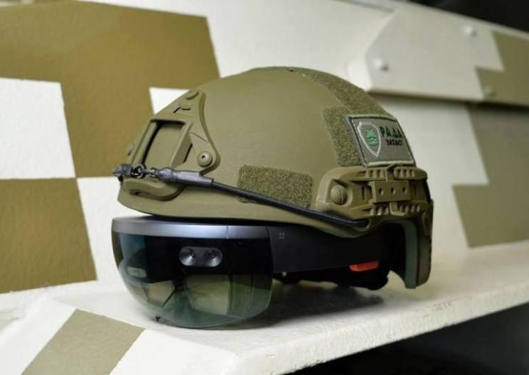 Ukrainian military looks to use Microsoft HoloLens for tanks