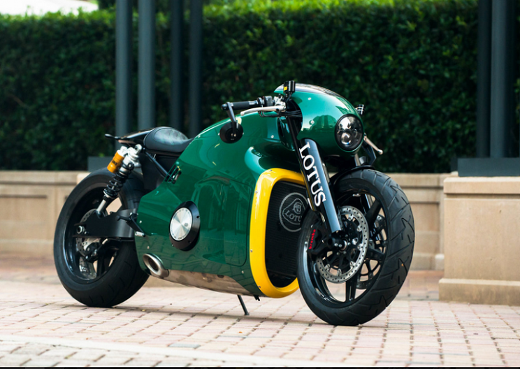 Lotus Auctions Off Its Only Production Motorcycle