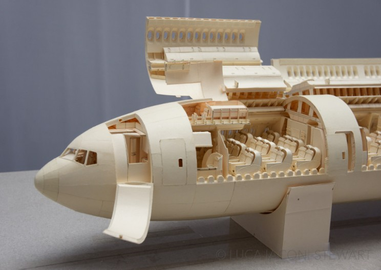 Boeing 777 Made Entirely of Manila Folders Will Amaze You