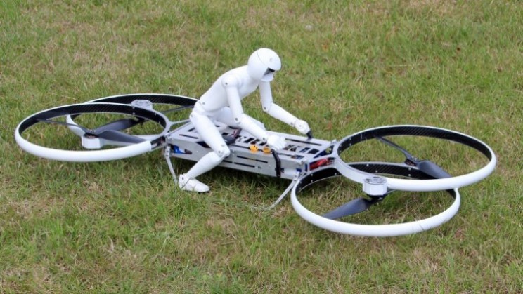 Malloy Aeronautics Hoverbike is the bike of the future