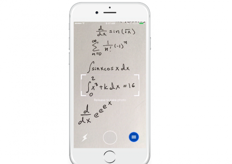 App that Can Solve Handwritten Math Problems