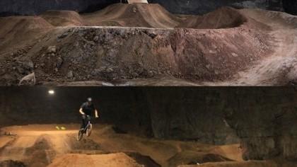 Huge underground bike park opening in Kentucky USA