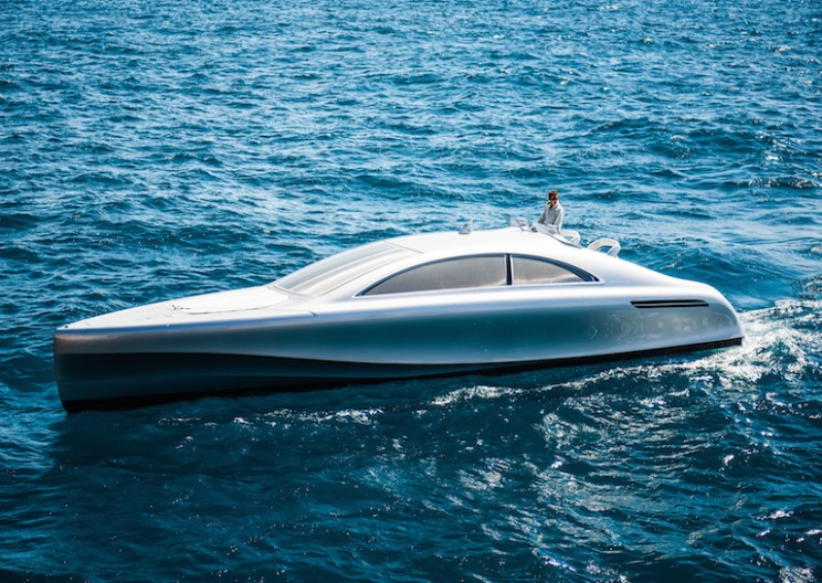 Mercedes-Benz Designed an Exclusive Luxury Yacht